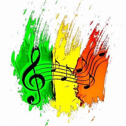 Note Musique Notes Rasta Sign Picsart Reggae