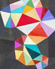 Geometric Abstract Print