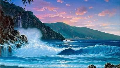 Ocean Cool Wallpapers Backgrounds Wallpaperaccess Resolution