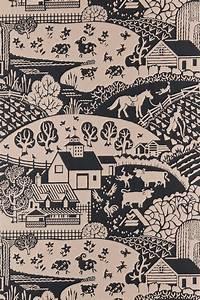 Farrow And Ball Tapeten : l ndliche motive tapete gable von farrow ball britisch englisch design ~ Buech-reservation.com Haus und Dekorationen