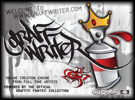 Graffiti Font Maker :  Creator Graffiti