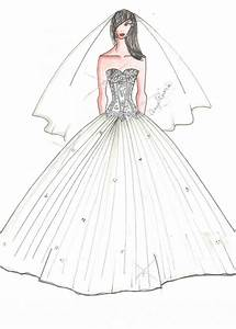 drawings of dresses how to draw a wedding dress youtube With wedding dress drawing