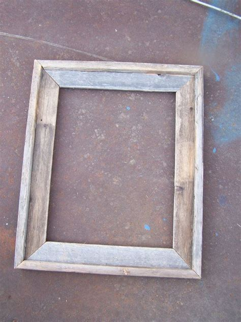 deluxe barnwood picture frame rustic