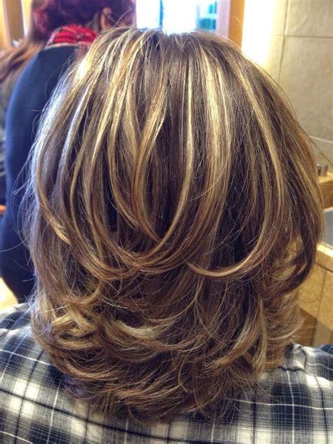 medium layered haircuts ideas  pinterest