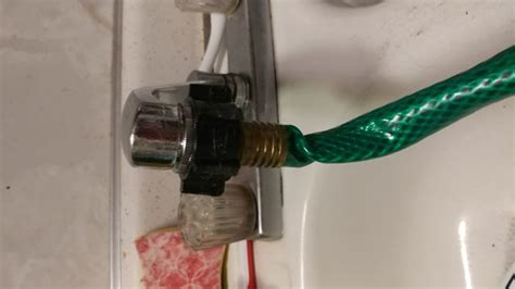 attach hose to kitchen sink how to attach a garden hose to a kitchen faucet 10 steps 7519