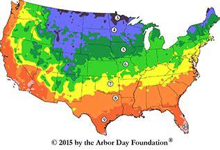 Tree Hardiness Zones  American Heritage Trees