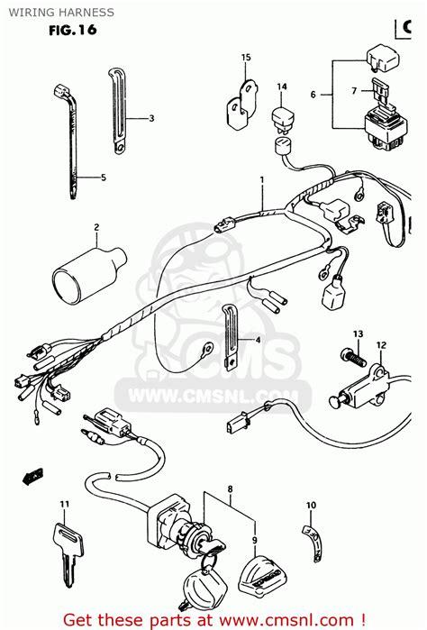 King Wiring Diagram 1992 by Suzuki Lt80 1999 X Wiring Harness Buy Original Wiring