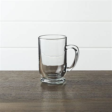 Others are more ornate, with embossed scrolls. Caffeine Mug + Reviews | Crate and Barrel | Clear glass coffee mugs, Caffeine mugs, Mugs