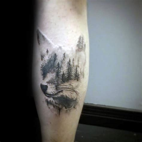 forest tattoo designs  men improb