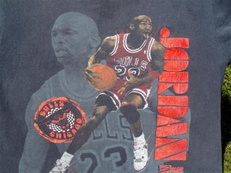 vintage  michael jordan chicago bulls black  shirt