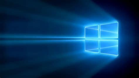 amazing windows  logo blue light