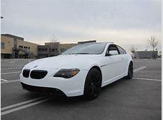 Matte White BMW 650i Newport Beach, CA