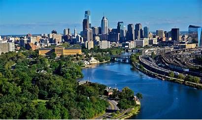 Skyline Philly Philadelphia Visitphilly Background Tourism Metropolitan