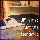 Catherine Pringle: DIY Painted Laminate Countertop