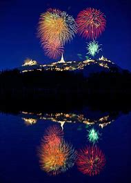 Photography Colorful Fireworks