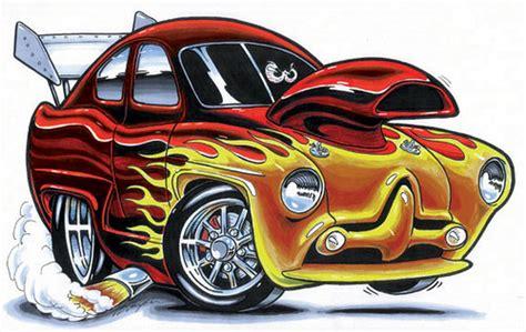 Funny Cartoon Car