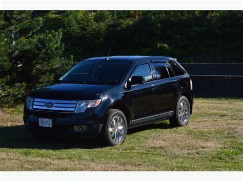 ford crossover 2007 2007 ford edge sel awd suv crossover outside victoria