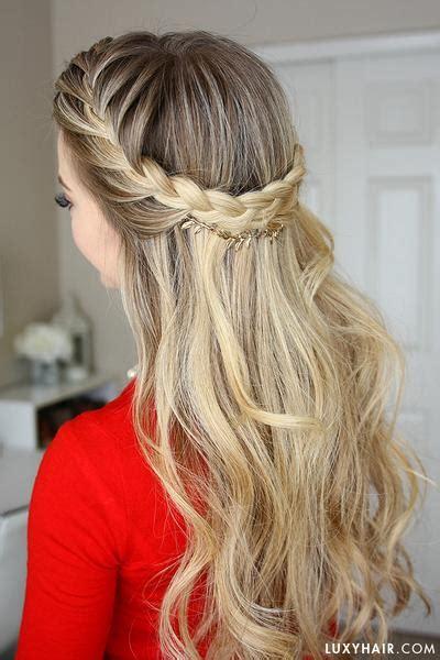 cute french braid hairstyles  girls pretty designs