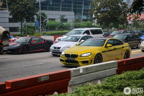 Dikke Bmw Hamann M6 Gran Coupe Is Prachtig In Singapore