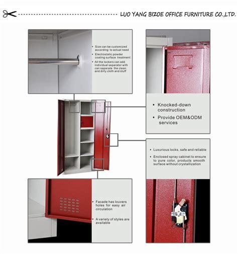 Metal Locker Storage Cabinet by Steel Almirah Parts Assemble Metal Used Industrial Storage