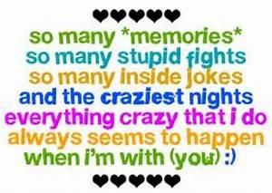 Cute Friendship Quotes Funny. QuotesGram