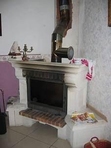 Installer Une Cheminée : cheminee insert installation ~ Premium-room.com Idées de Décoration
