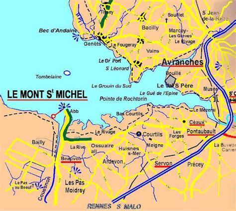 le mont michel carte le d 233 barquement en normandie le mont michel le de moonika
