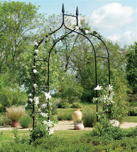 Backyard Metal by Arbor Garden Trellis Outdoor Metal Arch For