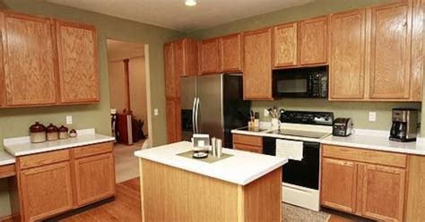 green paint  oak cabinets kitchen pinterest oak cabinets paint  green