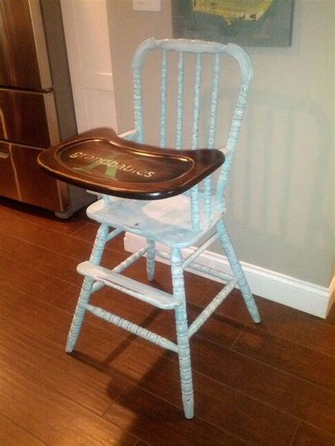 lind wooden high chair 1000 ideas about painted high chairs on