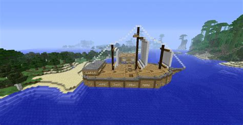 Minecraft Boat Banner by Pirate Boat Minecraft Project