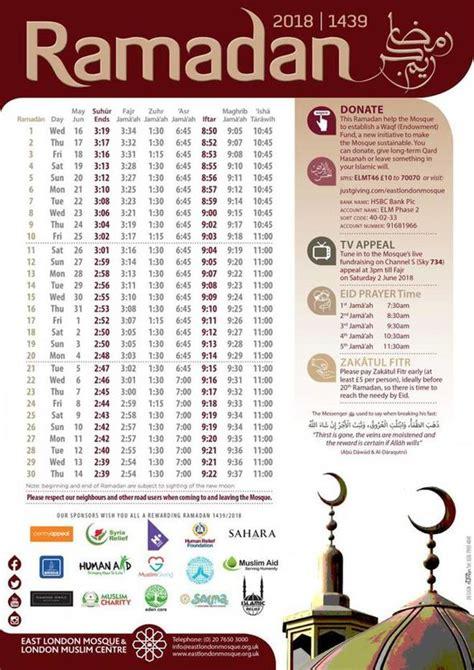 ramadan time iftar ramadan year uk news