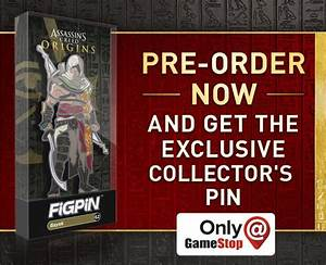 Assassin's Creed Origins – Bayek Figpin | Game Preorders