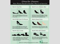 Dress for Success Shoes Women Should & Shouldn't Wear to
