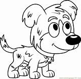 Pound Puppies Coloring Pages Chief Coloringpages101 Cartoon sketch template