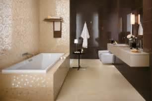 badfliesen modern braun spiegel fliesen für die moderne badgestaltung