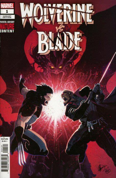 Wolverine vs Blade Special 1b (Marvel Comics ...