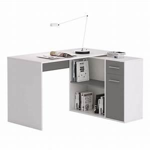 Regal Mit Arbeitsplatte : eckschreibtisch lena in wei grau mit regal caro m bel ~ Michelbontemps.com Haus und Dekorationen