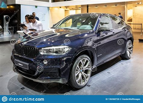 Bmw X6 Mid-size Luxury Crossover Suv Car Editorial Photo