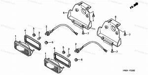 Honda Atv 2003 Oem Parts Diagram For Taillight  Trx500fa U0026 39 01 Fga U0026 39 04