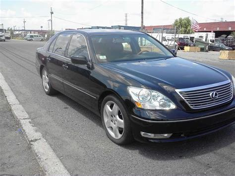 how to sell used cars 2005 lexus ls electronic toll collection buy used 2005 lexus ls430 base sedan 4 door 4 3l in kearny new jersey united states for us