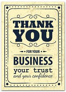 Thank you cards with slits for business card business