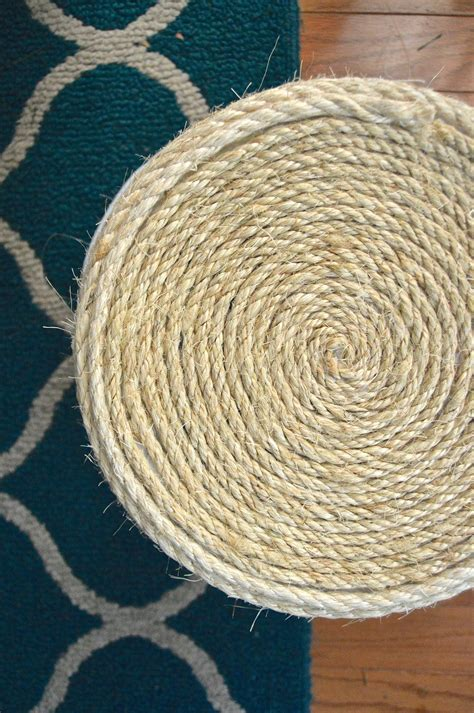 sisal rope storage basket     rope basket