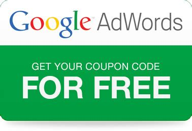 Adwords coupon code for india