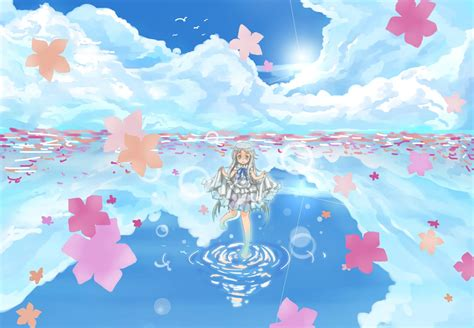 Anime Flower Wallpaper - anohana wallpapers hd