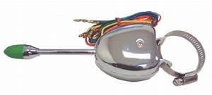 United Pacific Turn Signal Switch Chrome For Hot Rods