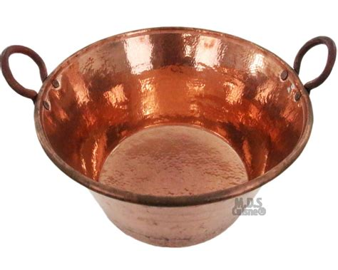cazo de cobre  carnitas large  heavy duty gauge copper    mexico kitchen