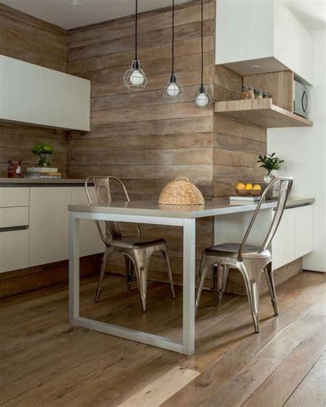 table cuisine blanche la cuisine blanche et bois en 102 photos inspirantes