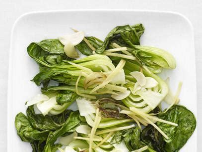stir fried bok choy  ginger  garlic recipe robin