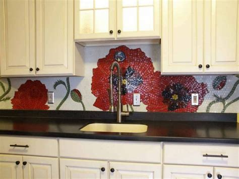 outstanding kitchen mosaic backsplash ideas